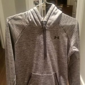 Gray Under Armour Hoodie - Large